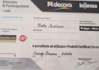 Certificazioni 5